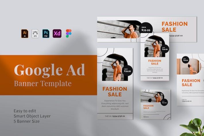 Thumbnail for Fashion Google Ad 02