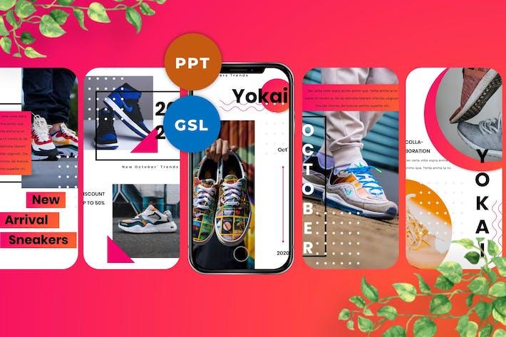 Yokai - Instagram Stories & Post Templates