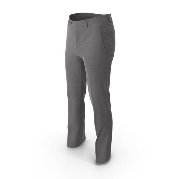 Мужские брюки Серый