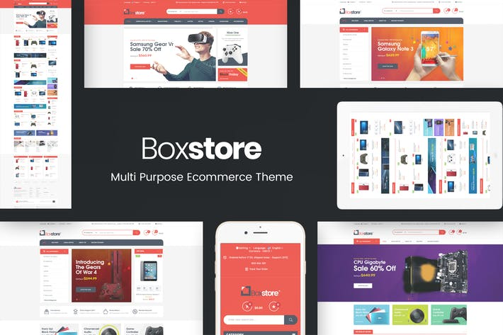 Thumbnail for BoxStore - Multipurpose Prestashop Theme