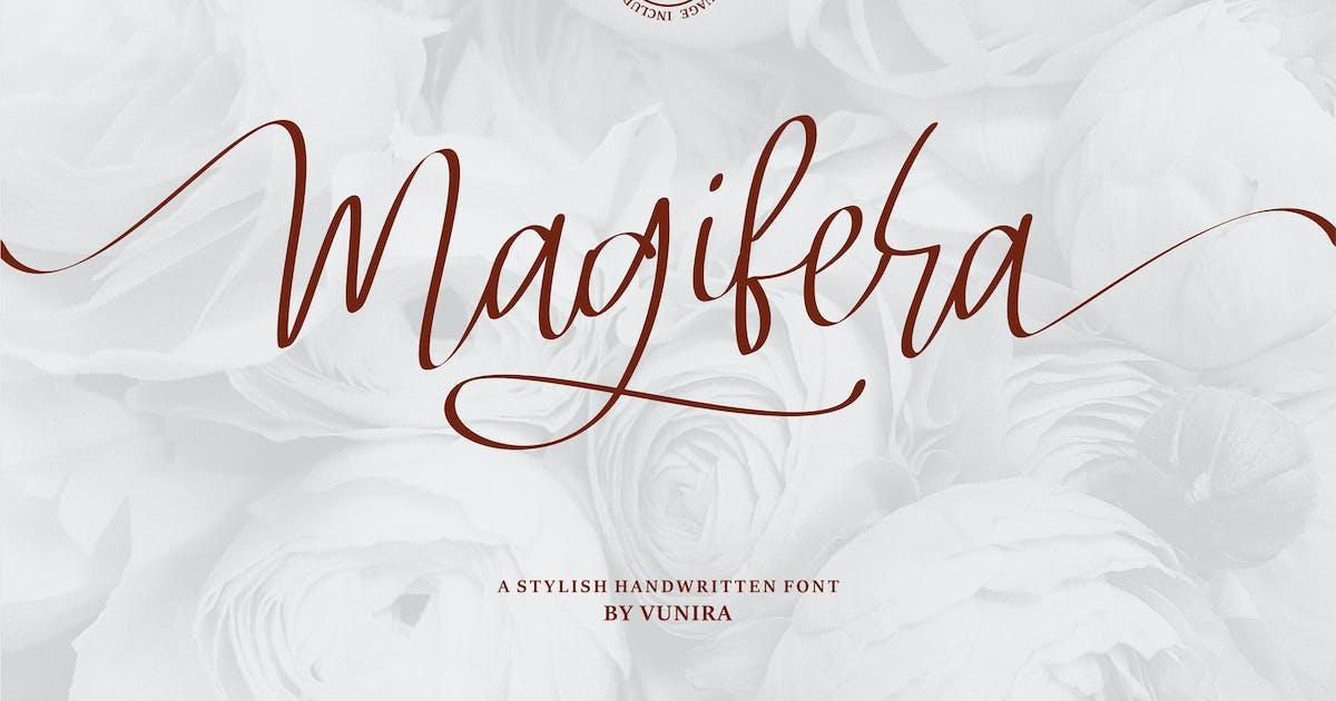 Download Magifera | A Stylish Handwritten Font by Vunira