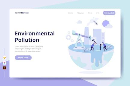 Umweltverschmutzung - Zielseite