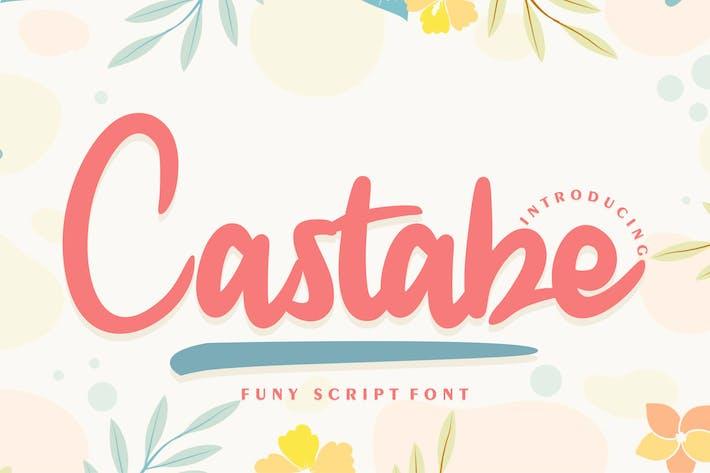 Castabe | Funy Script Fuente
