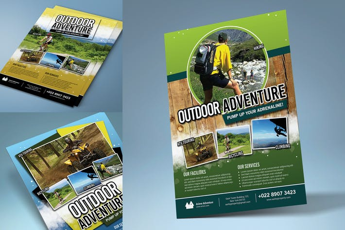 Thumbnail for Outdoor Sport Adventure Flyer