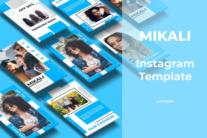Thumbnail for Mikali - Fashion Social Media Story Part 11