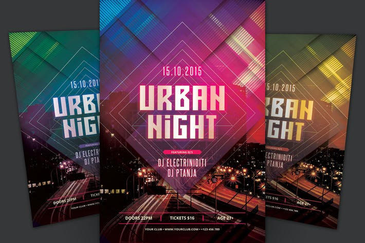 Thumbnail for Urban Night Flyer