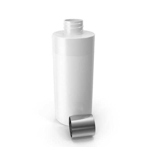 Tapa de botella de gel limpiador