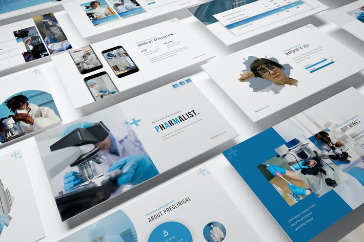 Pharmalist Google Slides Presentation Template