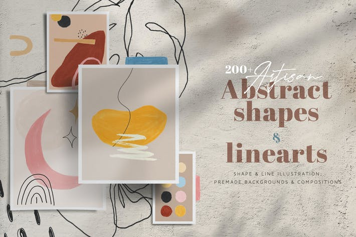 Thumbnail for Artisan Abstract Shapes & Line Art
