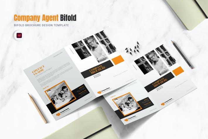 Thumbnail for Company Agent Bifold Brochure