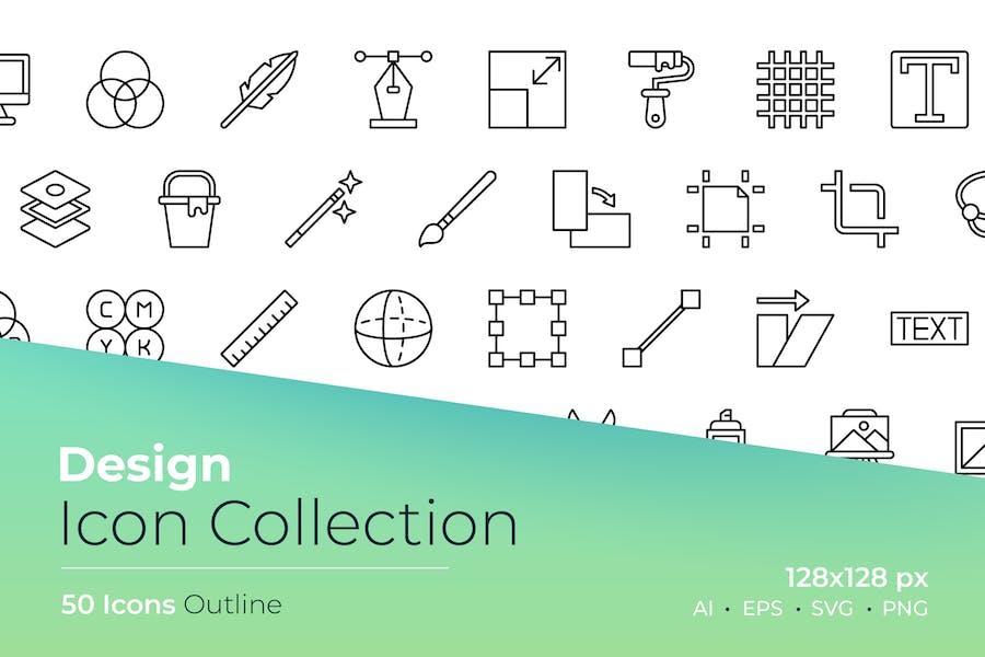 Design Outline Icon
