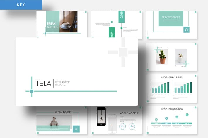 Thumbnail for Tela - Keynote Template