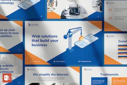 Web & Mobile Development PowerPoint Presentation