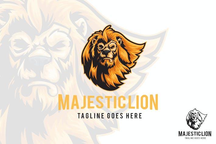 Thumbnail for Majestic Lion Vector Logo Mascot