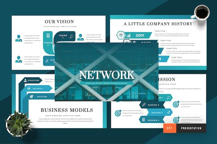 Создание сетей — презентация Powerpoint