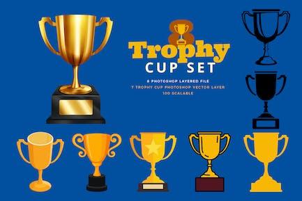 Trophy Cup Set