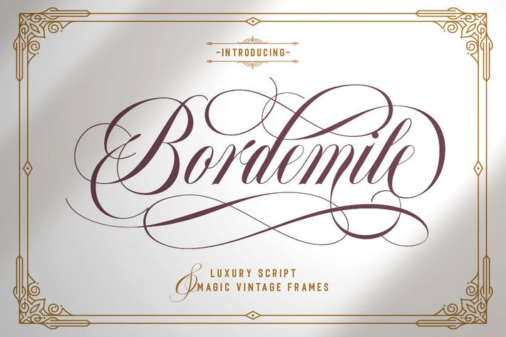 Thumbnail for Bordemile - Luxury Script
