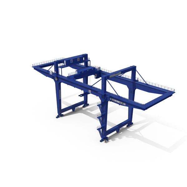 Rail Mounted Gantry Container Crane