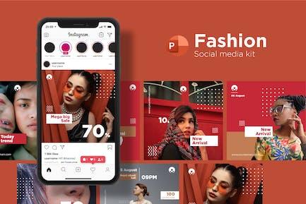 Fashion Social Media Kit - PowerPoint