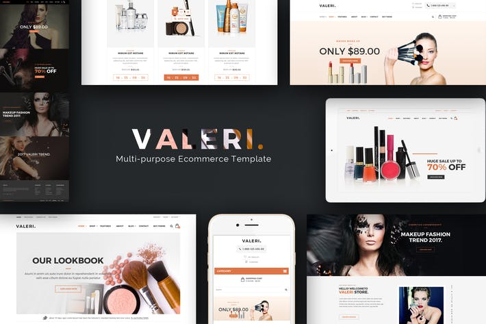 Thumbnail for Valeri - Responsive Opencart Theme for Beauty SPA