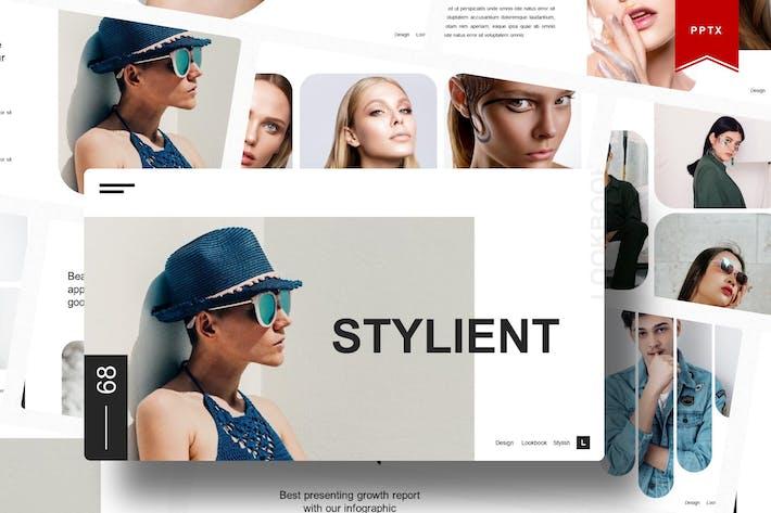 Стилиент | Шаблон Powerpoint