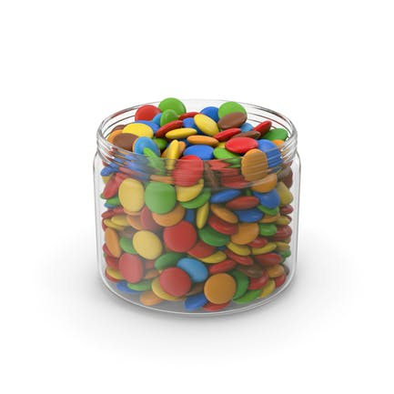 Sweets Candy In Jar