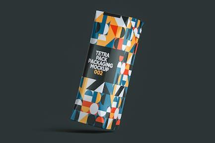 Tetra Pack Packaging Mockup 002