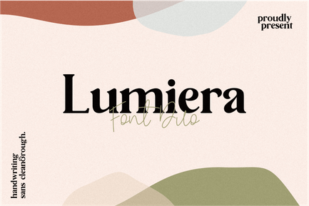 Lumiera Font Duo