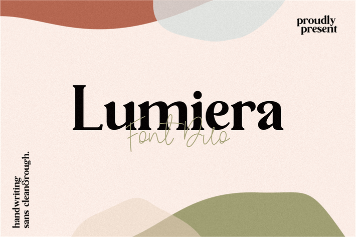 Thumbnail for Lumiera Font Duo