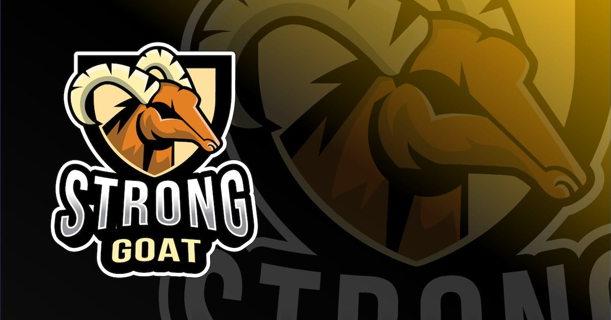 Download Strong Goat Esport Logo Template by IanMikraz