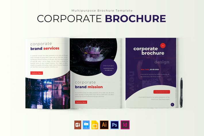 Corporate | Brochure Template