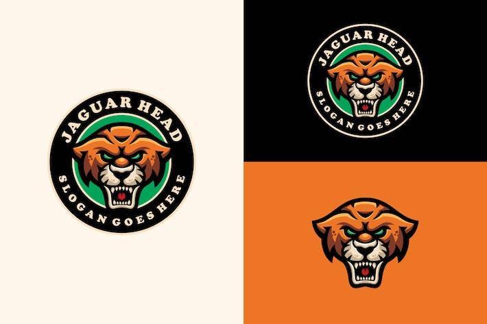 Thumbnail for Jaguar mascot modern emblem logo