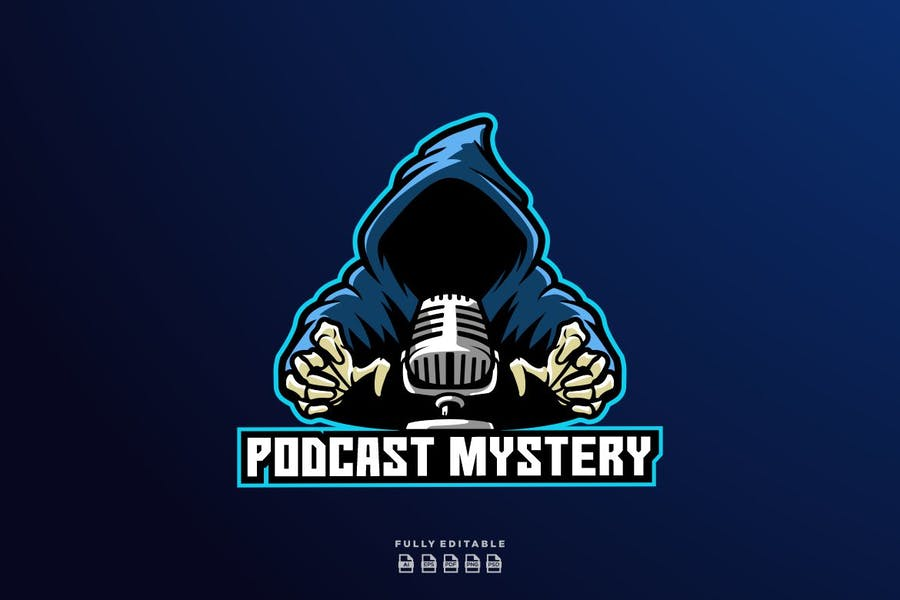 Podcast Mistery Logo