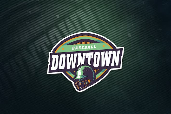 Thumbnail for Logo Downtown Baseball Sports