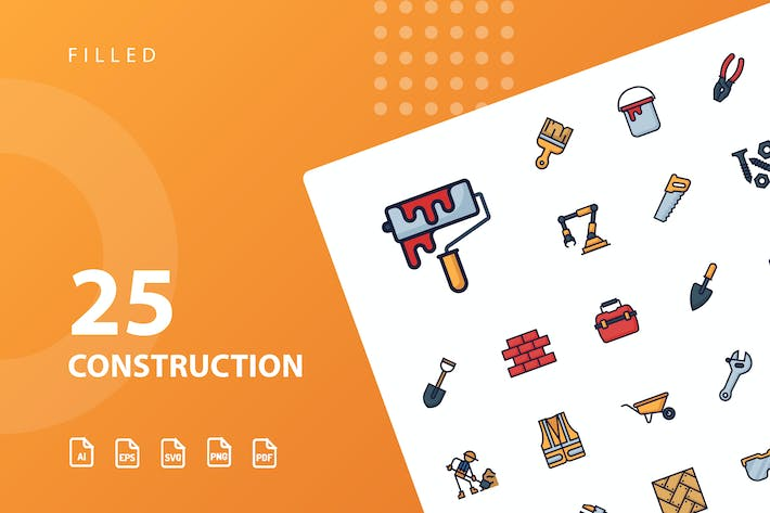 Thumbnail for Construction Filled