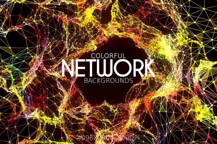 Thumbnail for Colorful Network Backgrounds