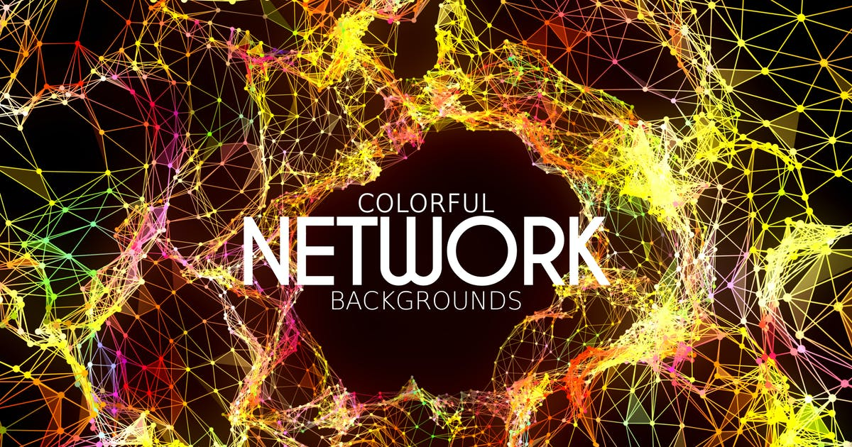 Download Colorful Network Backgrounds by VProxy