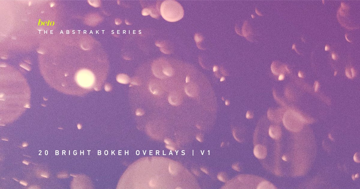 Download Color Bokeh Overlays V1 by betoalanis