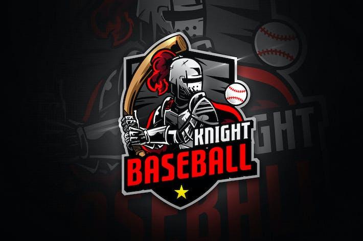Thumbnail for Baseball Knight - Mascot & Esport Logo