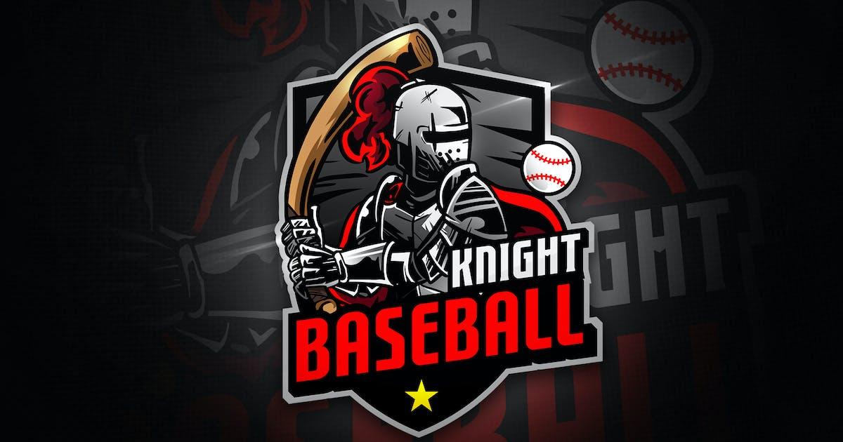 Baseball Knight - Mascot & Esport Logo by aqrstudio