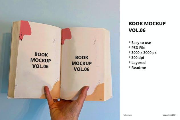 Book Mockup Vol.06