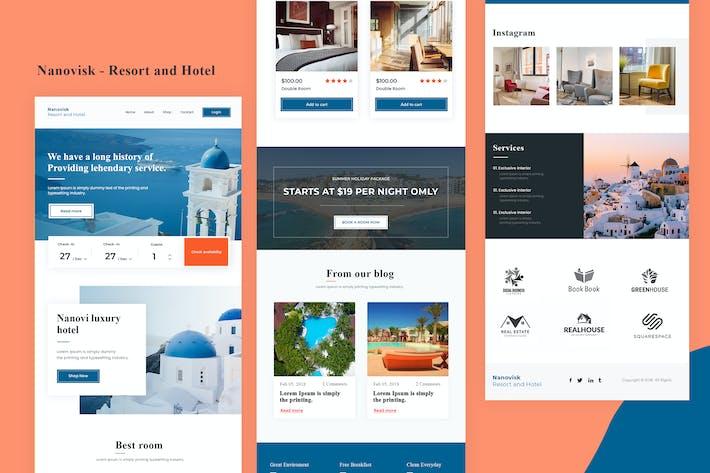 Thumbnail for Nanovisk - Resort and Hotel Email Newsletter