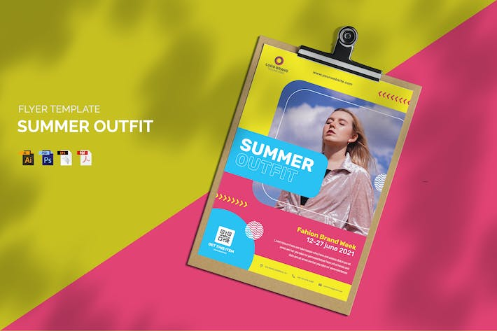 Summer Outfit - Flyer