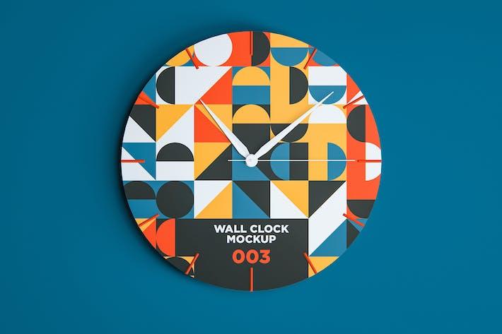 Wall Clock Mockup 003