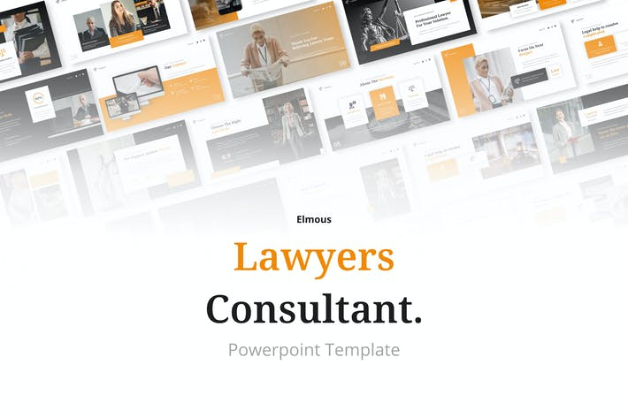 Lawyer's Consultant Powerpoint Presentation
