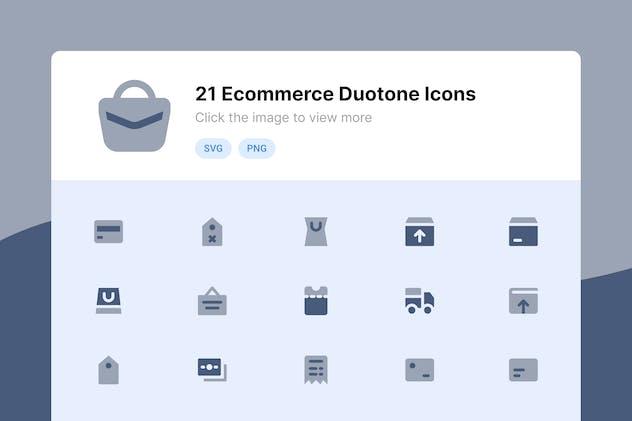 E-commerce Duotone Icons