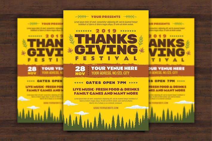 Thumbnail for Thanksgiving Flyer