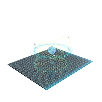 Asteroid Hologram