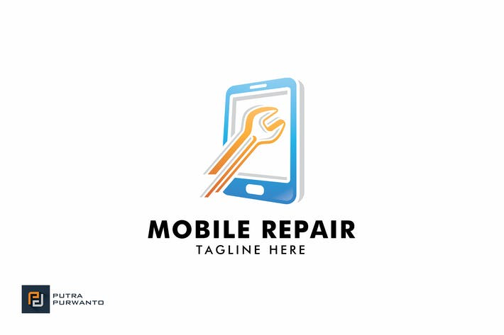 Thumbnail for Mobile Repair - Logo Template