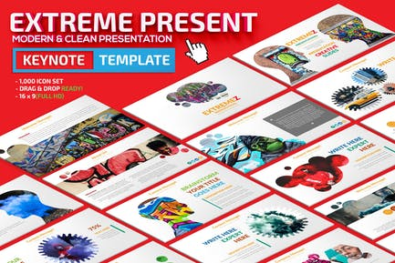 Extreme Keynote Presentation Template